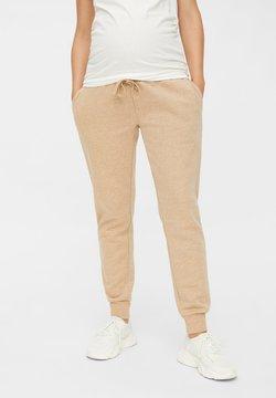 MAMALICIOUS - Pantalones - beige