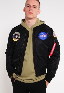 Alpha Industries - NASA - Bombertakki - black