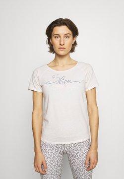 Yogasearcher - SHINE - T-shirt print - offwhite