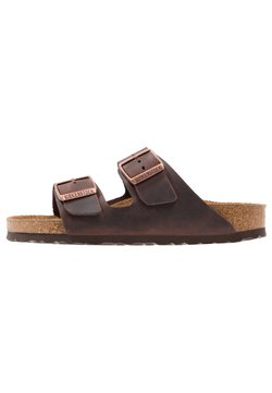 Birkenstock - ARIZONA SOFT FOOTBED NARROW - Slip-ins - habana