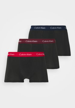 Calvin Klein Underwear - LOW RISE TRUNK 3 PACK - Shorty - black