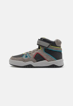 Geox - PERTH BOY - Sneakers hoog - black/grey