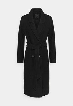 Monki - LOUISE COAT - Mantel - black