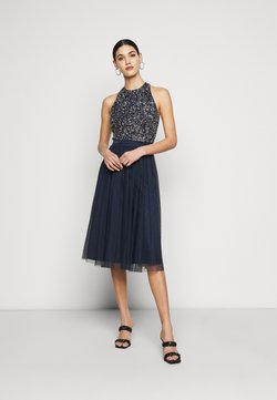 Lace & Beads Tall - SANIA TALL - Cocktailjurk - navy