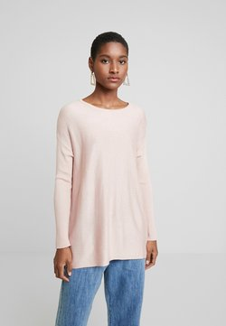 Anna Field - BASIC- RELAXED BOAT NECK JUMPER - Strickpullover - pink