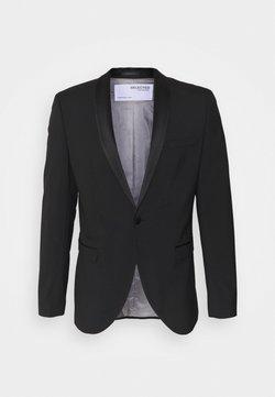 Selected Homme - SLHSLIM SKYLOGAN TUX - Blazer - black