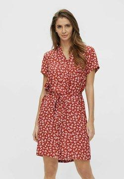 Object - BIRDY DRESS - Vestido camisero - mottled red