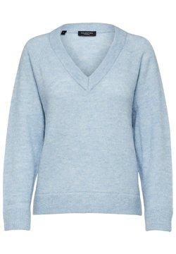 Selected Femme - Sweter - cashmere blue