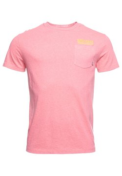 Superdry - T-shirt con stampa - fluro pink pastel