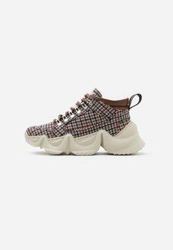 LÄST - TRACK CHECK - Sneakers laag - brown/beige