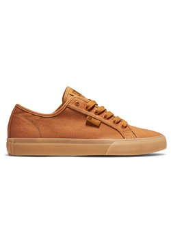 DC Shoes - MANUAL - Sneakers laag - brown wheat
