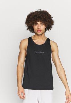 Calvin Klein Performance - TANK - Funktionsshirt - black