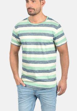 Solid - RUNDHALSSHIRT THICCO - T-Shirt print - green/white