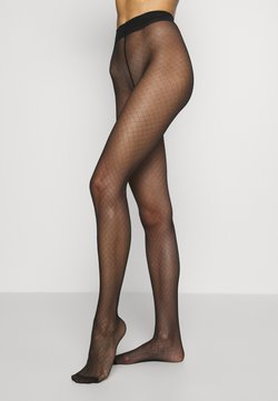DIM - FISHNET TIGHT SIGNATURE - Strumpfhose - black