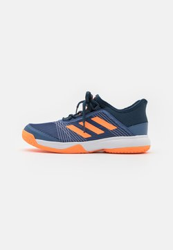 adidas Performance - ADIZERO CLUB UNISEX - Multicourt Tennisschuh - crew blue/screaming orange/crew navy