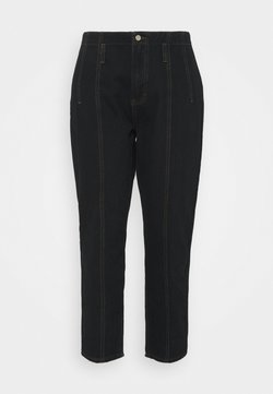 Missguided Plus - SEAM DETAIL MOM - Jeans Relaxed Fit - black