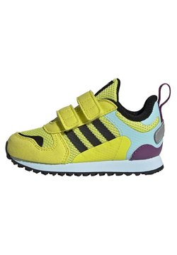 adidas Originals - ZX 700 SHOES - Sneaker low - yellow