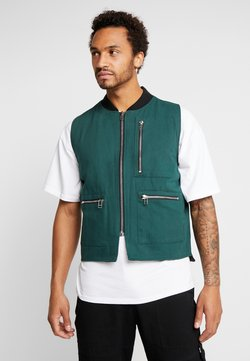The Ragged Priest - QUILTED GILET - Weste - green