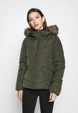 ONLY - ONLROONA QUILTED JACKET - Winterjacke - rosin