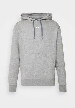 Nike Sportswear - REPEAT HOODIE  - Sweat à capuche - grey heather/white