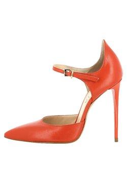 Evita - LISA - High Heel Pumps - coral