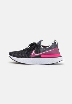 Nike Performance - EPIC PRO REACT FLYKNIT - Zapatillas de running neutras - black/white/pink blast