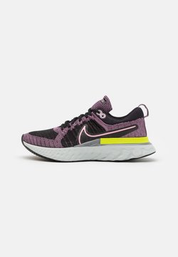Nike Performance - REACT INFINITY RUN FK 2 - Zapatillas de running neutras - violet dust/elemental pink/black/cyber