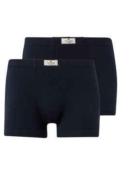 TOM TAILOR - 2 PACK - Shorty - blue/dark/solid