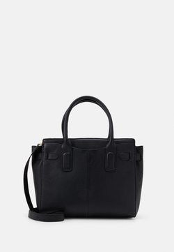 Zign - LEATHER - Handtasche - black