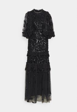 Needle & Thread - MELODY SEQUIN GOWN - Abito da sera - graphite/black