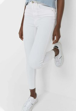 Stradivarius - Jeans Skinny Fit - white
