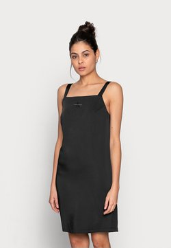Calvin Klein Jeans - WIDE STRAPS DRESS - Cocktailkleid/festliches Kleid - black