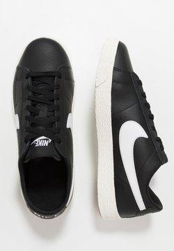 Nike Sportswear - BLAZER - Sneakersy niskie - black/white/sail/light brown