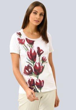 Alba Moda - T-Shirt print - weiß,rot