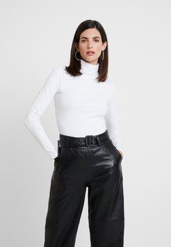 Anna Field - BASIC - Langærmede T-shirts - white