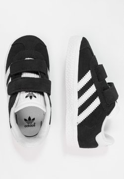adidas Originals - GAZELLE - Baskets basses - core black/footwear white