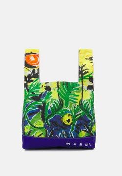 Marni - BORSA - Shopping Bag - emerald green