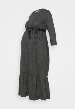 MAMALICIOUS - MLMARGO 3/4 MIDI DRESS - Vestido ligero - dark grey