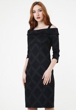 Madam-T - ALTOONA - Cocktailkleid/festliches Kleid - schwarzgrau