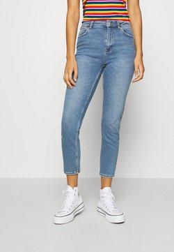 ONLY - ONLERICA LIFE MID ANK - Straight leg jeans - light blue denim