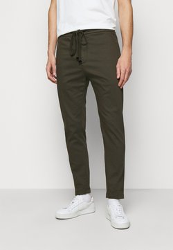 Dondup - PANATLONE DOM - Trousers - olive