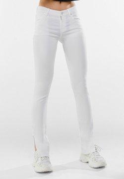 Bershka - Jeans bootcut - nude