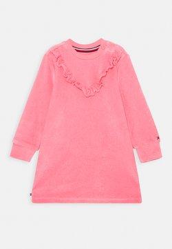 Tommy Hilfiger - BABY VELOURS DRESS - Korte jurk - pink