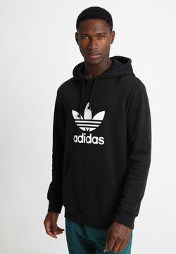 adidas Originals - TREFOIL HOODIE UNISEX - Kapuzenpullover - black