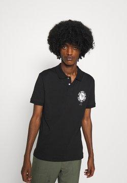 PS Paul Smith - EXCLUSIVE ZEBRA PRINT - Poloshirt - black