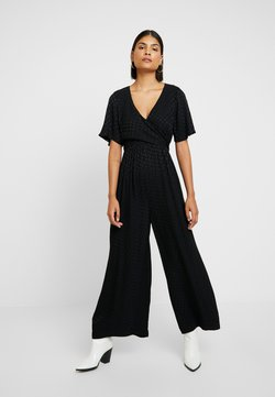 Madewell - WRAP IN DOT - Combinaison - true black