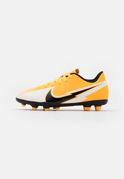 Nike Performance - MERCURIAL JR VAPOR 13 CLUB FG/MG UNISEX - Fußballschuh Nocken - laser orange/black/white