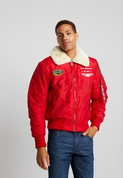 Alpha Industries - INJECTOR  AIR FORCE - Blouson Bomber - speed red