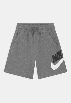 Nike Sportswear - PLUS CLUB - Verryttelyhousut - carbon heather/smoke grey
