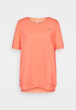 ONLY Play - ONPCLARISE TRAINING TEE CURVY - T-Shirt basic - neon orange
